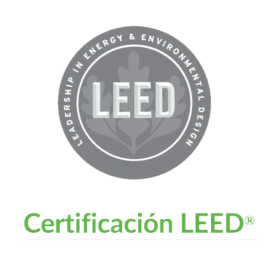 logo certificado leed png